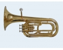Talent Baritone Horn Bb, Clear Lacquer, Case